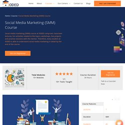 Social Media Marketing Certification Courses in Bangalore
