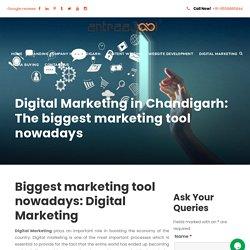 Digital Marketing in Chandigarh: The biggest marketing tool nowadays