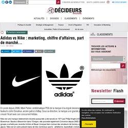 Adidas vs Nike : marketing, chiffre d'affaires, part de marché...