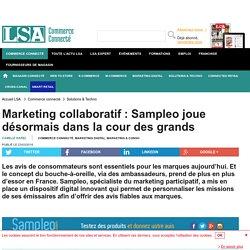 Marketing collaboratif : Sampleo joue...