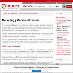 Marketing y Comercialización