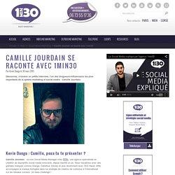 Camille Jourdain se raconte avec 1min30