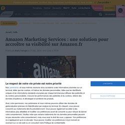 Amazon Marketing Services veut optimiser la communication des marques sur Amazon.fr