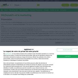 McDonald's : Etudes, analyses Marketing et Communication de McDonald's
