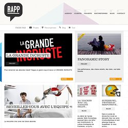 Agence RAPP – Agence de marketing relationnel et de communication interactive