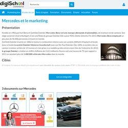 Mercedes : Etudes, Analyses Marketing et Communication de Mercedes