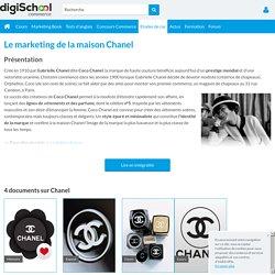 Chanel : Etudes de cas, analyses Marketing et Communication du luxe