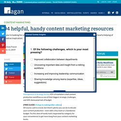 94 helpful, handy content marketing resources - Ragan Communications