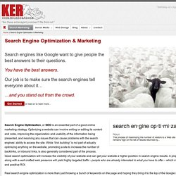 SEO & Search Engine Marketing - The Ker Communications Approach