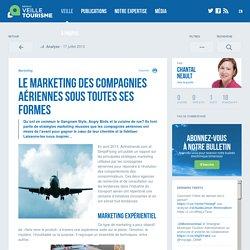 » Le marketing des compagnies aériennes sous toutes ses formes