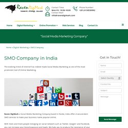 Social Media Marketing Company in India - Raven DigiMark