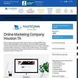 Online Marketing Company Houston TX