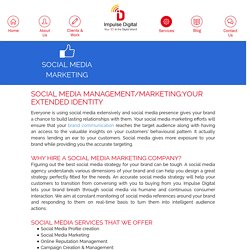 Social Media Marketing Services by Impulse Digital