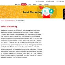 Best Email Marketing Company in Mumbai