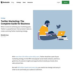 Twitter Marketing: The Complete Guide for Business