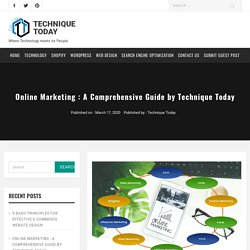 Online Marketing : A Comprehensive Guide by Technique Today