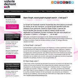 Open Graph, social graph et graph search : c'est quoi ? - Marketing & réseaux sociaux : conseils, formation, coaching