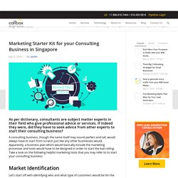 Marketing Starter Kit for your Consulting Business in Singapore