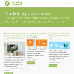 Marketing y Consumo