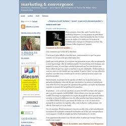 marketing & convergence: Pause café Nespresso