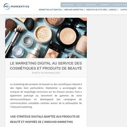 Cosmetique + social marketing + image marque