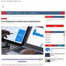 Learn Marketing Best Free Online Courses