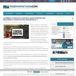 Content marketing: la co-création, votre stratégie gagnante