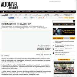 Marketing Cross Media, ¿qué es?