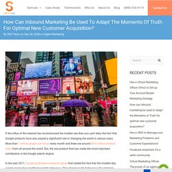 How can inbound marketing be used to adapt new customer acquisition?