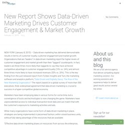 New Report Shows Data-Driven Marketing Drives Customer Engagement & Market Growth - Data Boutique