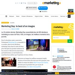Marketing Day: le best of en images