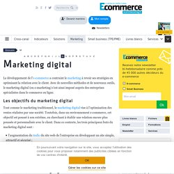 Marketing digital - définition du glossaire
