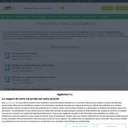 e-Marketing : définition, cours, stratégie, PDF gratuits