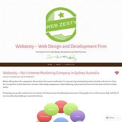 Webzesty – No 1 Internet Marketing Company in Sydney Australia