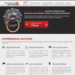 Search Engine Optimisation (SEO) | Chinese SEO | Software Development | Conversion Rate Marketing