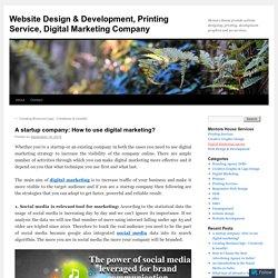 Website Design & Development, Printing Service, Digital Marketing Company