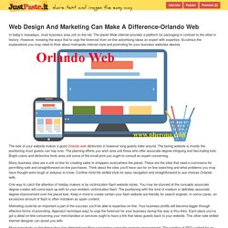 Web Design And Marketing Can Make A Difference-Orlando Web - justpaste.it