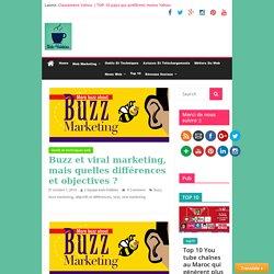 Buzz et viral marketing sur internet : objectifs et différences