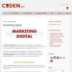 Marketing digital - Coden digital