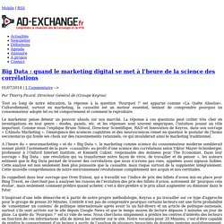 Big Data : quand le marketing digital se met à l'heure de la science des corrélations-%post_id%