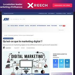 Qu'est-ce que le marketing digital ? - Dictionnaire marketing