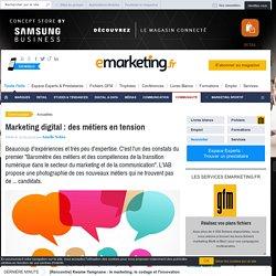 Marketing digital : des métiers en tension