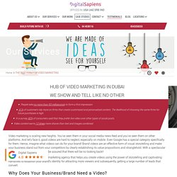 Video marketing agency Dubai