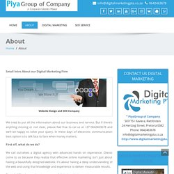 About - Digital Marketing Company Pretoria- DigitalMarketingPTA