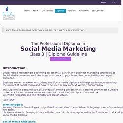 Social Media Marketing Diploma,Training Courses Amman Jordan