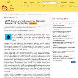 NOVA Dental Marketing Agency Discusses Organic SEO For Dentists