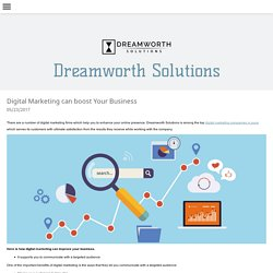 Digital Marketing can boost Your Business