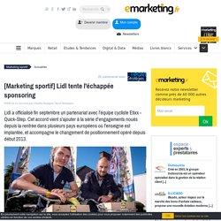 [Marketing sportif] Lidl tente l'échappée sponsoring