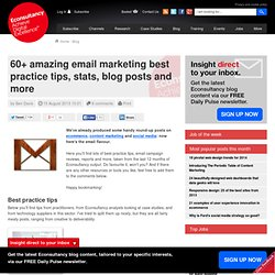 60+ amazing email marketing best practice tips, stats, blog posts and more