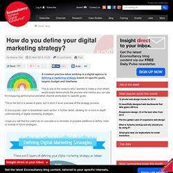 Comment élaborer une stratégie digitale